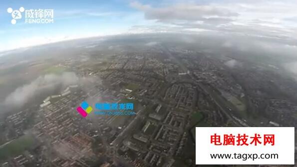 大疆无人机冒死飞到1.1万英尺 被彻底震撼