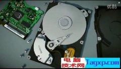 3D演示机械硬盘的内部结构