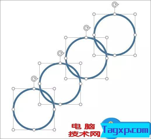 PowerPoint2016怎么合并形状 PowerPoint2016合并形状功能教程