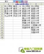 Excel表格制作分类下拉列表