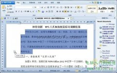 WPS Office考试:轻松调整段落布局