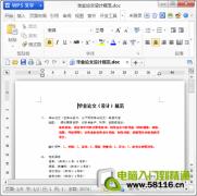 WPS教程:文档保护,拒绝复制