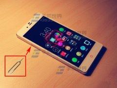 努比亚Z9Mini怎么装SIM卡