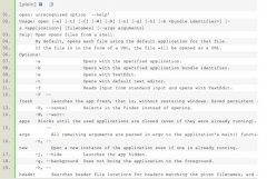 Mac os如何在终端下打开APP应用程序
