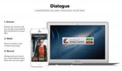 通过Dialogue在Mac上进行iPhone电话录音
