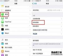 iPhone7 Plus来电转接开启教程