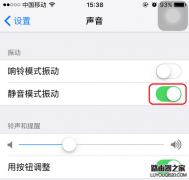 iphone手机设置静音并且不振动的方法