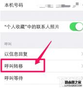 iPhone6手机怎么设置呼叫转移教程