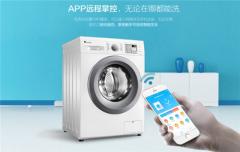 洗衣机从机械按钮到电子触屏