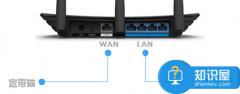 路由器连接网线后对应端口指示灯不亮