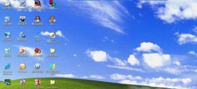WindowsXP系统隐藏不活动的图