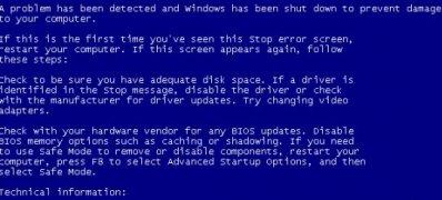 XP系统开机蓝屏或提示登录进程初始化失